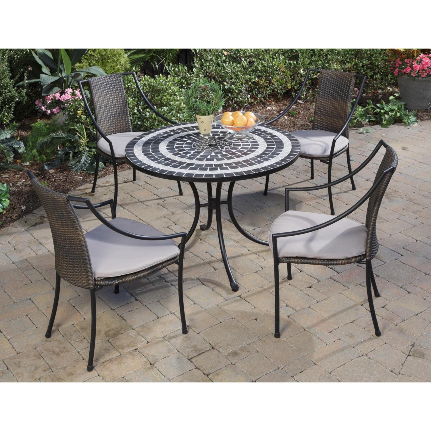 Home Styles Delmar And Laguna Outdoor Patio Dining Set