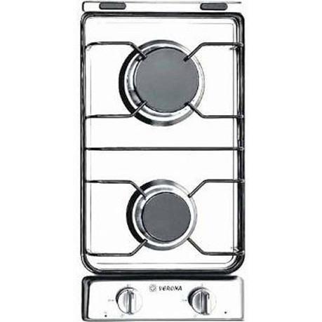 Verona VECTG212FDW 12-Inch Drop-In Gas Cooktop - White