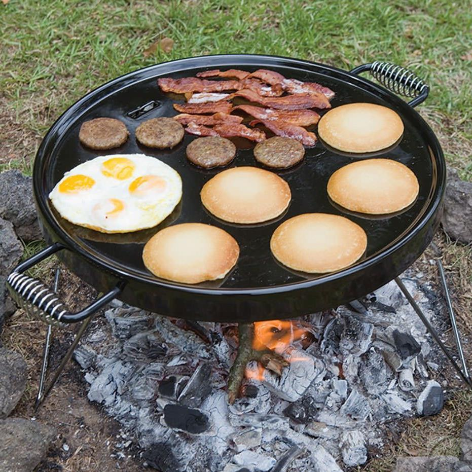 Picture of Bayou Classic 18-Inch Portable Campfire Griddle - 500-428
