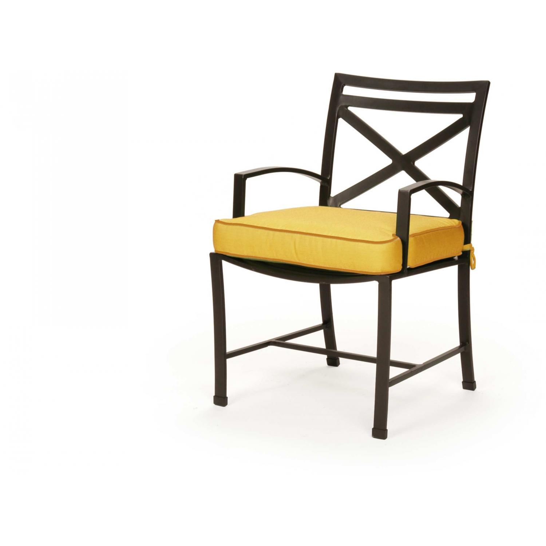 Caluco San Michele Aluminum Dining Arm Chair