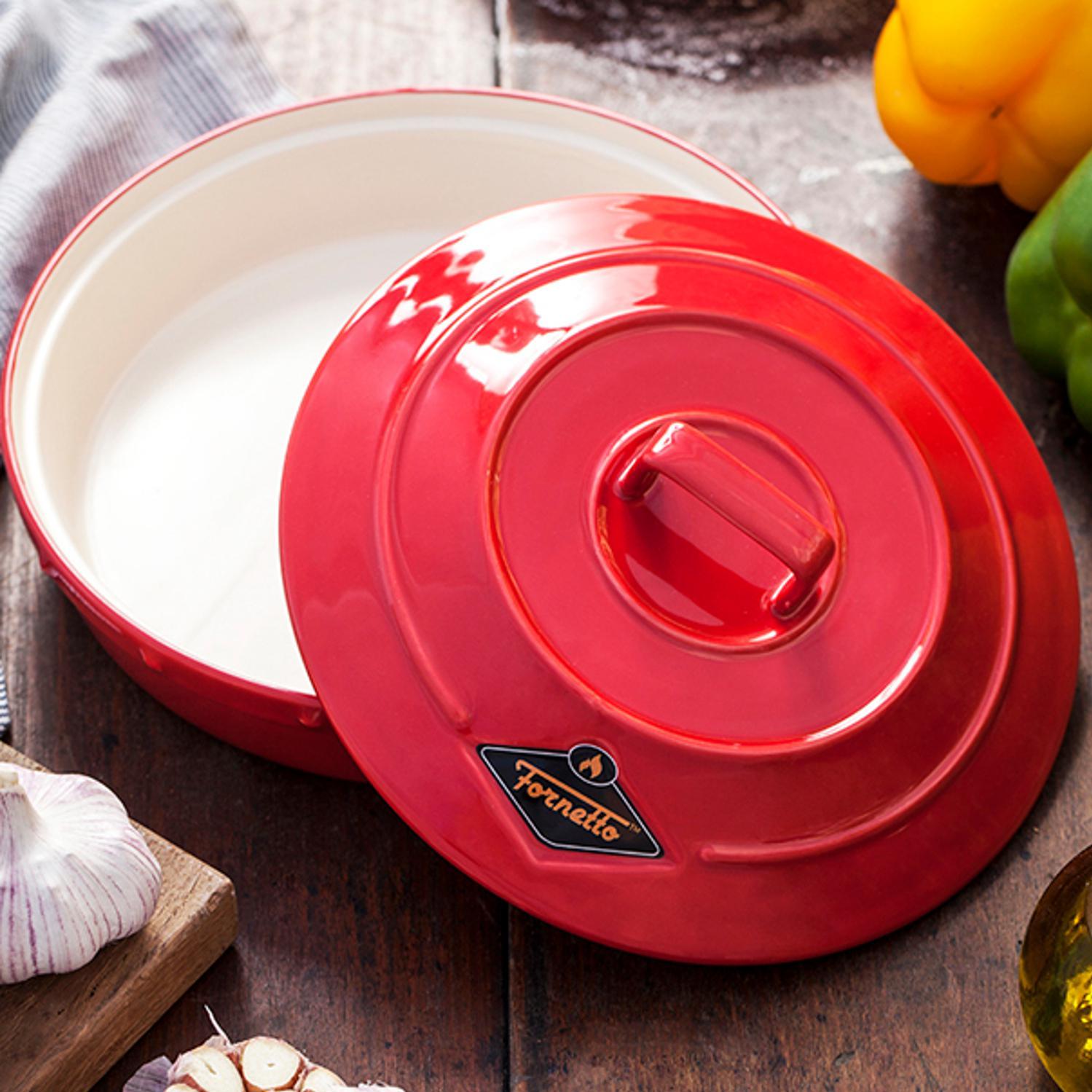 Picture of Fornetto Ceramic Garlic Roaster And Tortilla Warmer