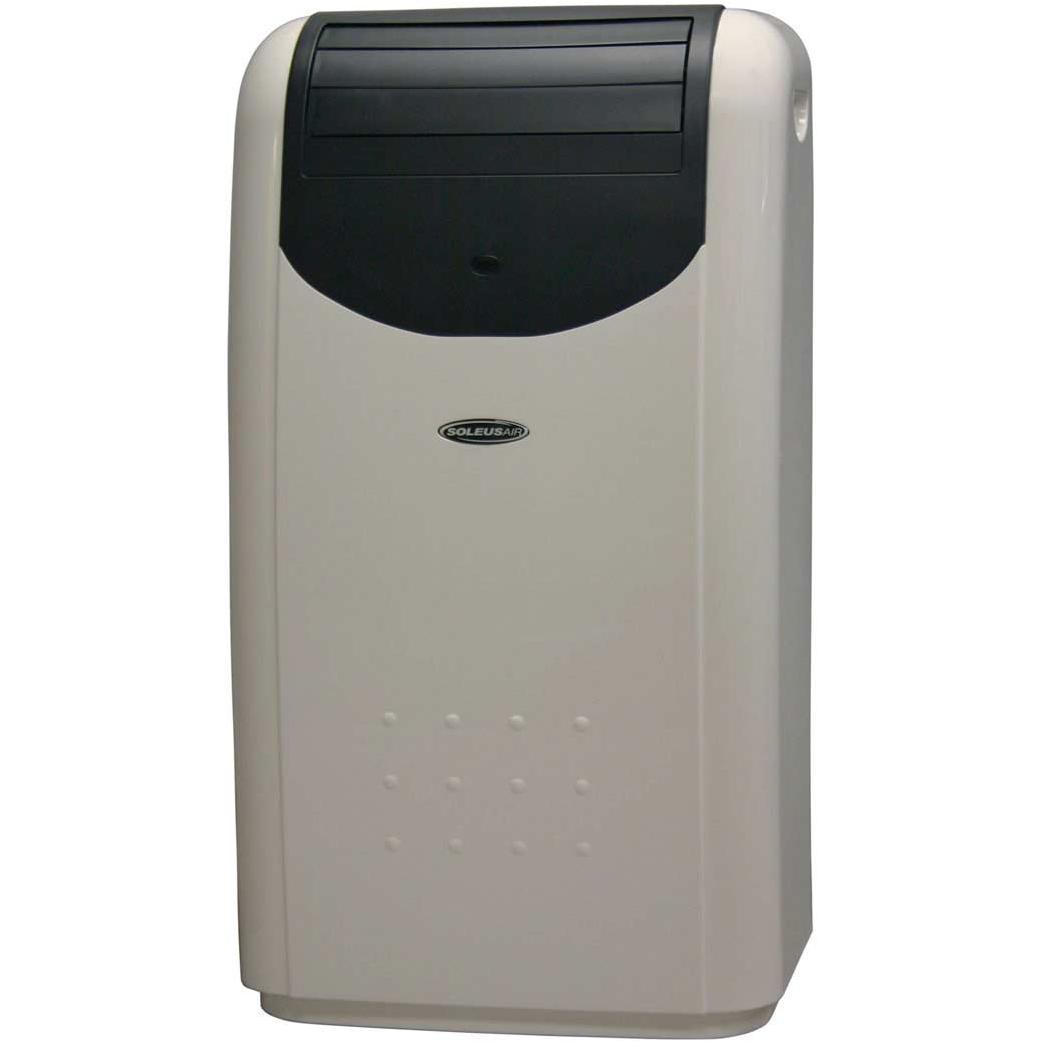 Soleus LX140BLDB  14000 BTU Dual Hose Portable Air Conditioner With Heat Pump