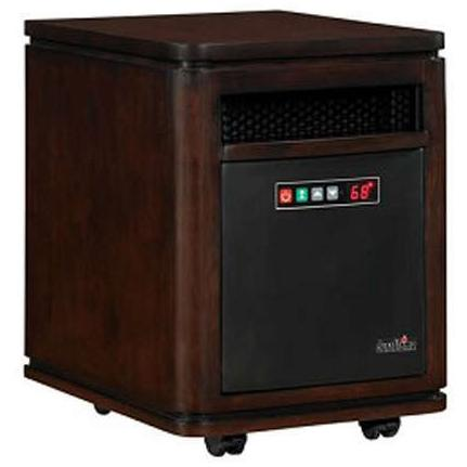 Duraflame 10HM4128-W504 Dartmouth Mobile Electric Heater - Roasted Walnut
