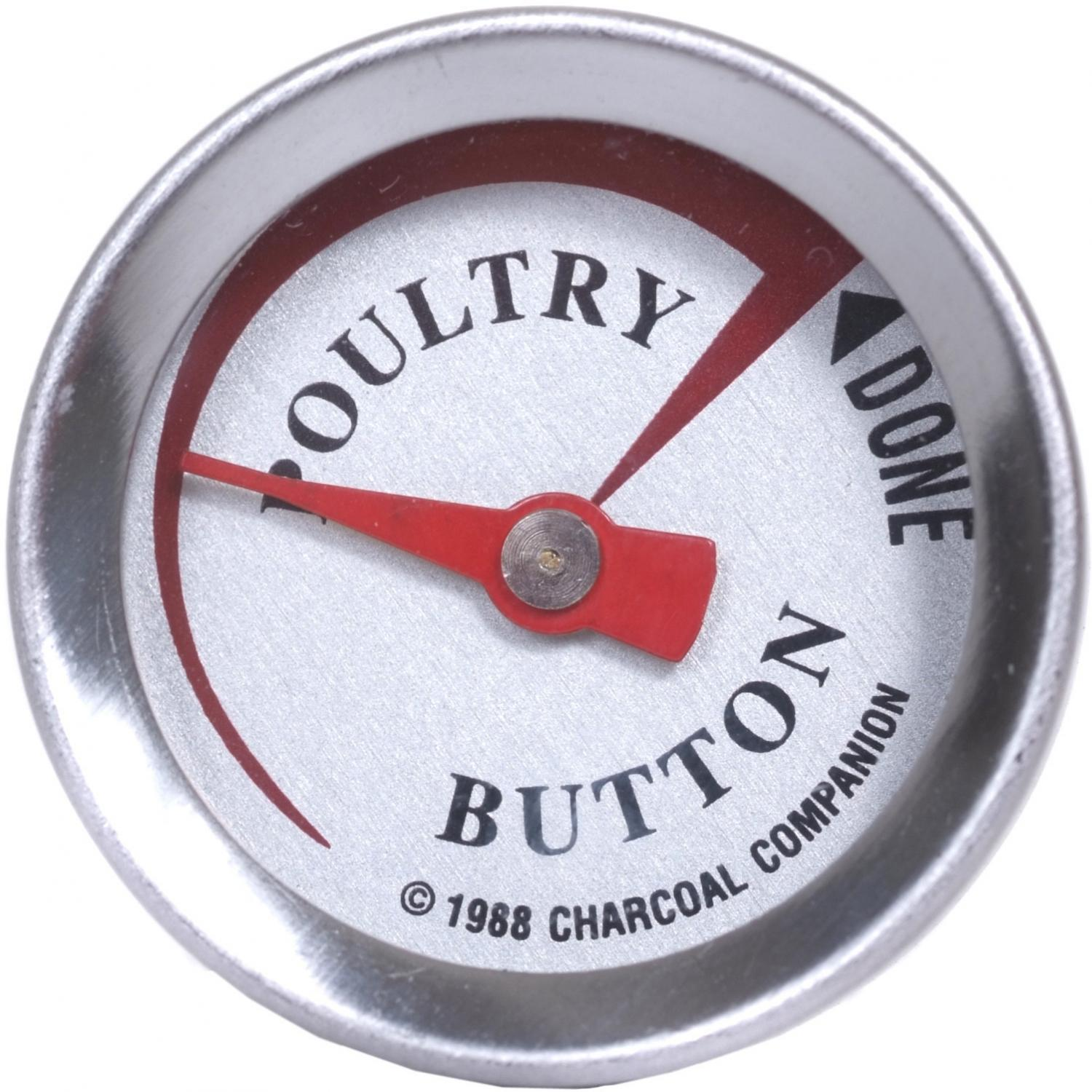Picture of Stainless Poultry Thermometer Button