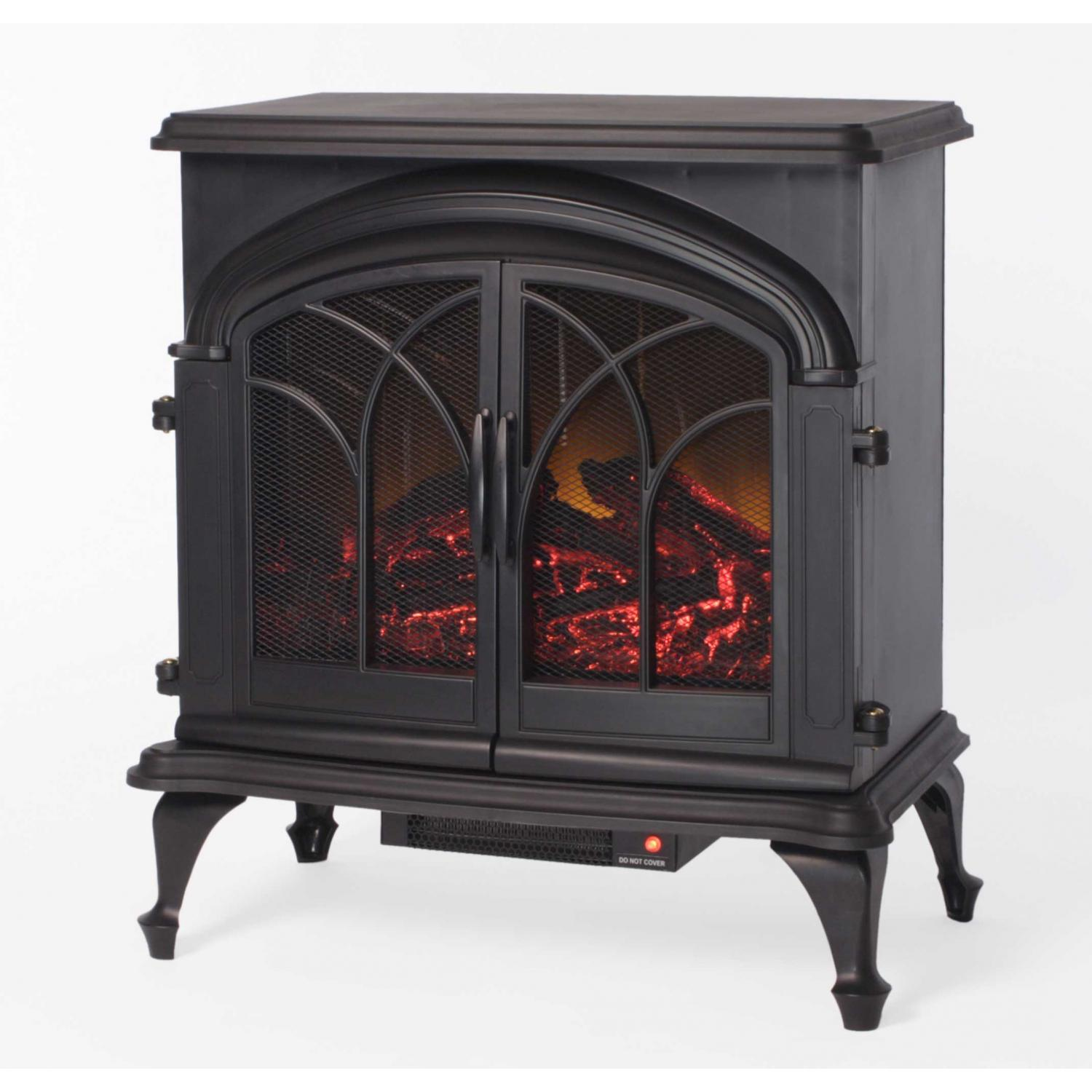 Fire Sense Fox Hill 1350 Watt Electric Stove Fireplace