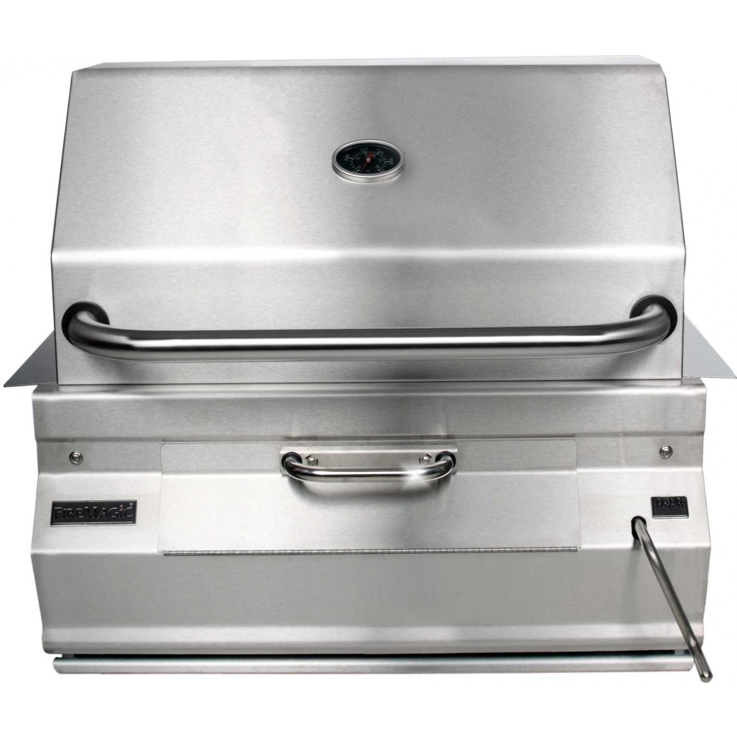 Fire Magic 24 Inch Legacy Built In Smoker Charcoal Grill 12-SC01C-A