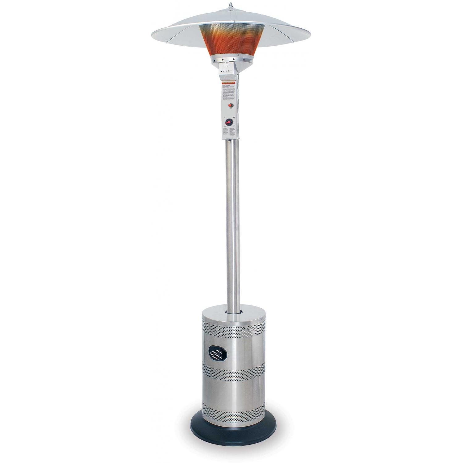 Endless Summer Patio Heaters Stainless Steel Commercial Propane Patio Heater