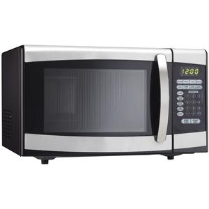 Danby DMW099BLSDD 0.9 Cu. Ft. Compact Microwave Oven - Stainless Steel
