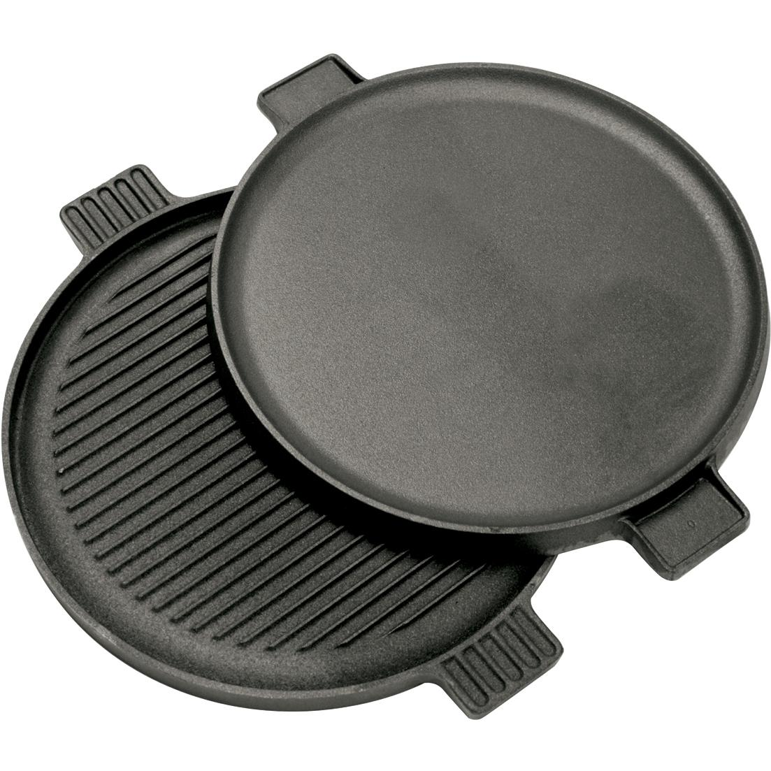 Bayou Classic Griddles 14-Inch Reversible Round Cast Iron Griddle - 7414