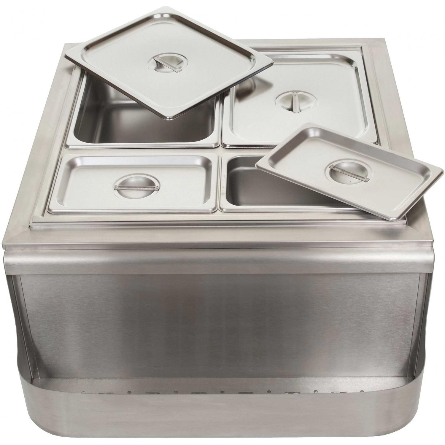 BBQ Guys Cold Buffet With Four Buffet Pans