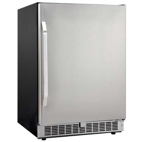 Danby DAR154BLSST Silhouette Select 5.4 Cu. Ft. Capacity Built-In Refrigerator - Stainless Steel