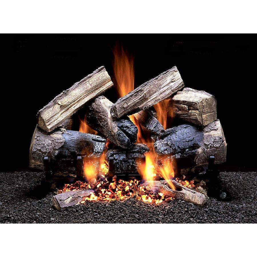 Firegear 18-Inch Wild Cherry Vented Log Set Without Burner