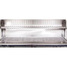 PGS Legacy Newport 30-Inch Freestanding Natural Gas Grill Stainless Steel Warming Rack and Cooking Grids