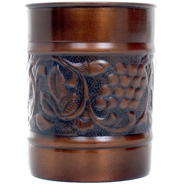 Old Dutch Antique Copper Tool Caddy