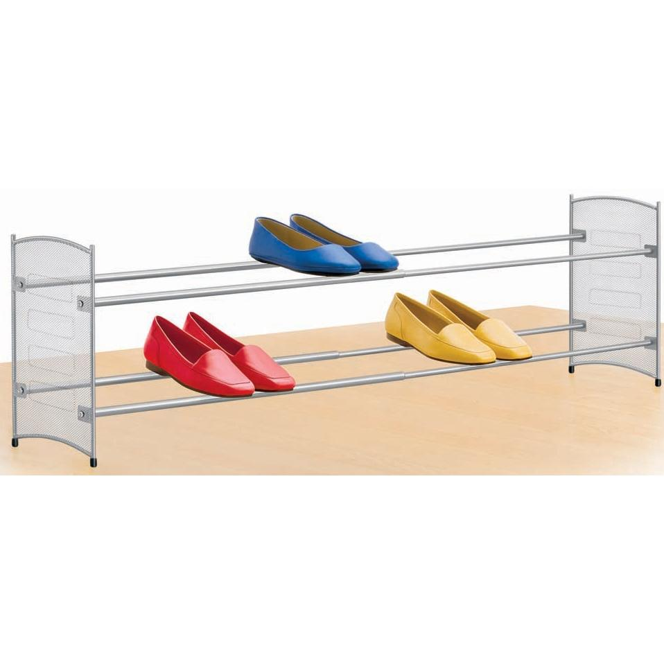 Lynk Expandable/Stackable Mesh Sided Shoe Rack - 146102DS