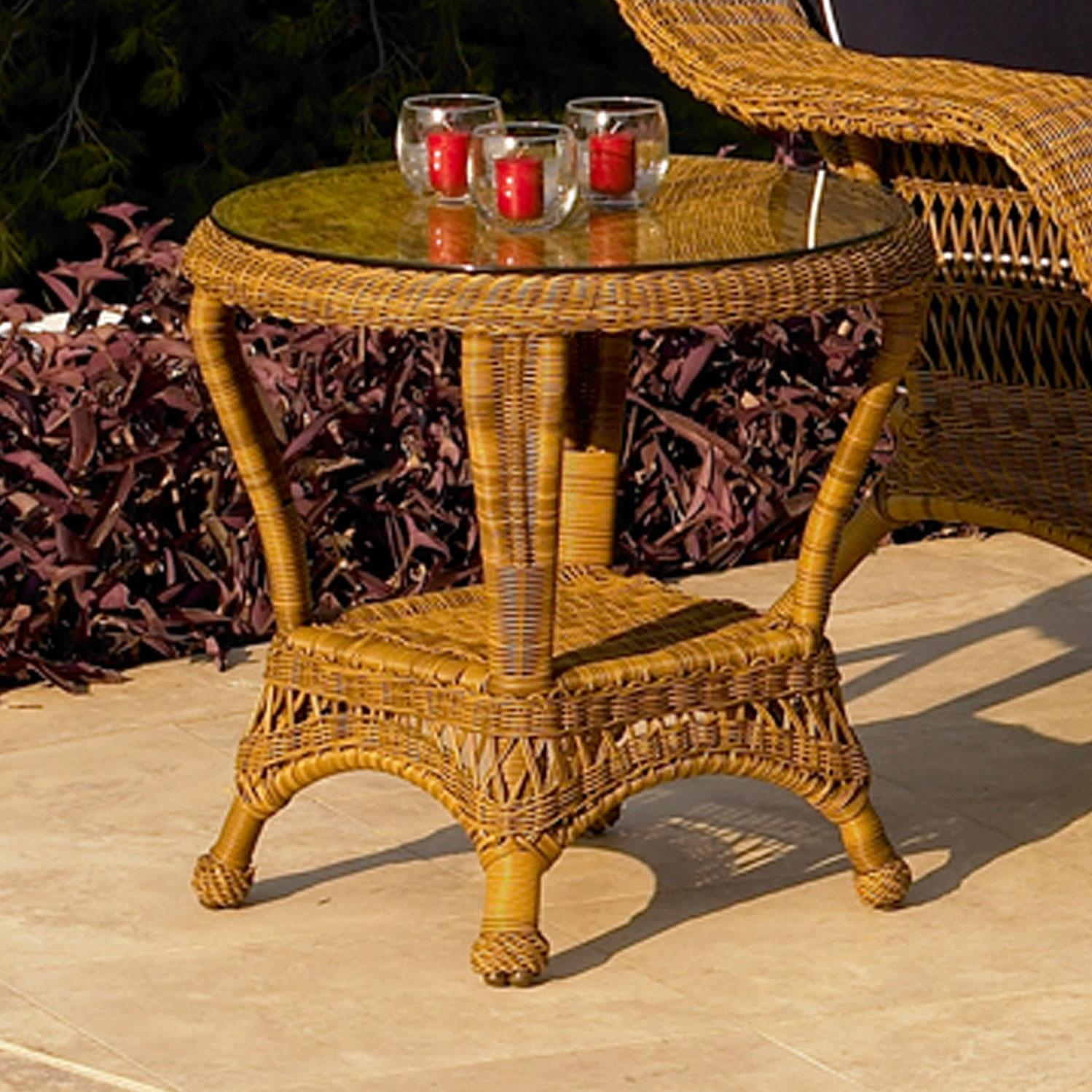 North Cape Port Royal End Table - Walnut