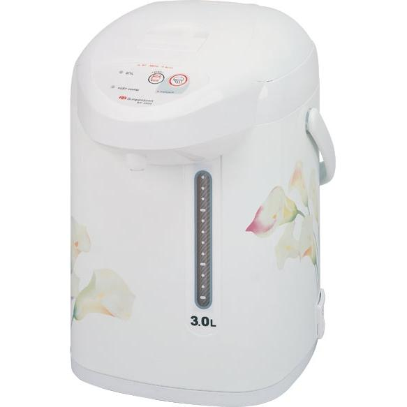 Sunpentown Hot Water Pot White 3 Liter Capacity - SP-3000
