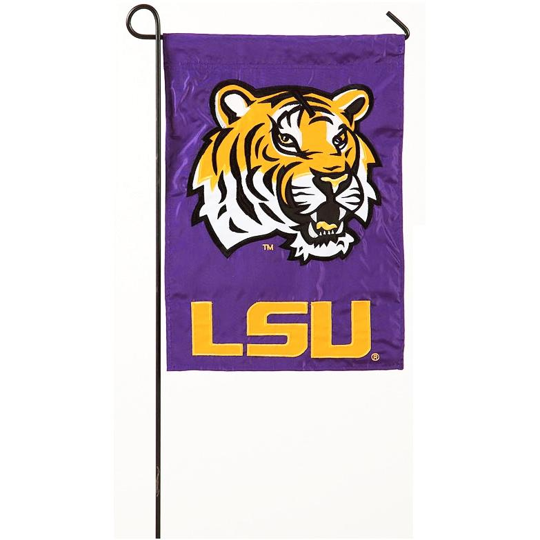 Evergreen LSU Tigers Garden Display Flag