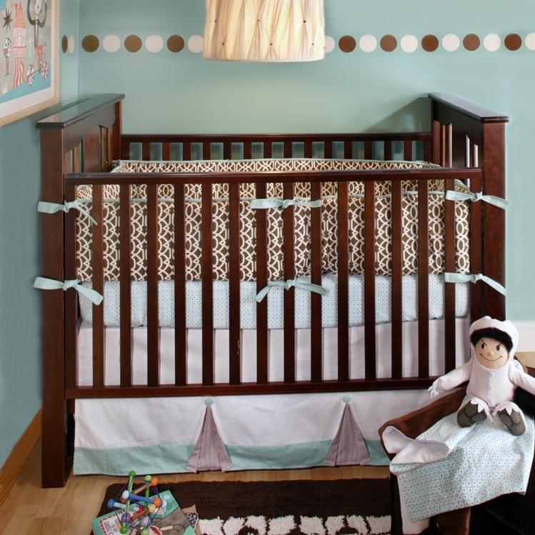 New Arrivals Crib Bumper - Calypso