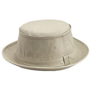 Otto Cap Cotton Twill Fisherman Hat S/M - Khaki