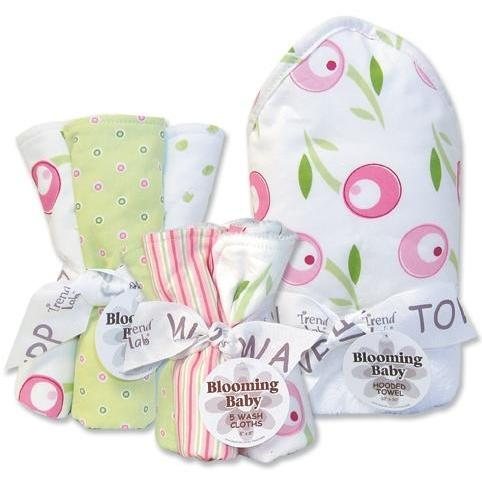 Trend Lab 10-Piece Baby Gift Set - Tulip