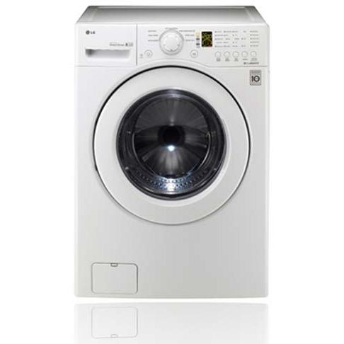 LG WM2140CW 4.0 Cu. Ft. Front Load Washer - White