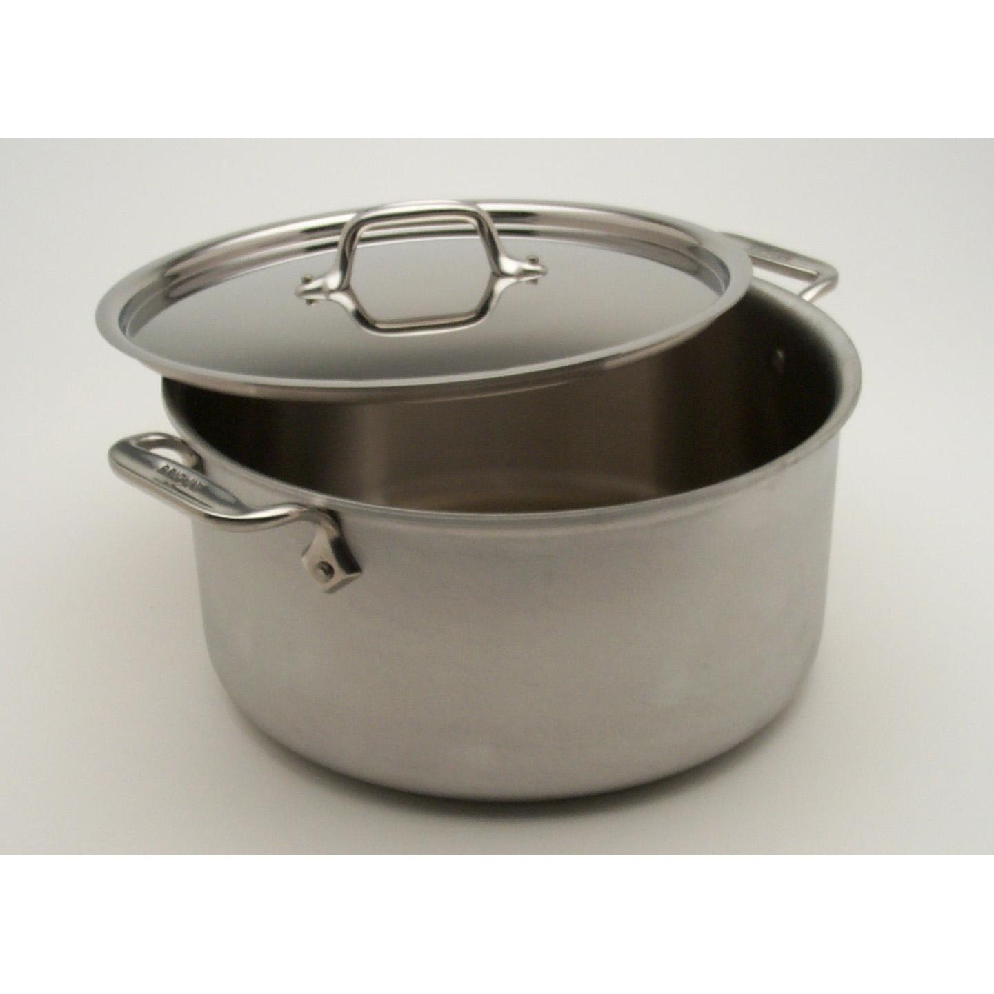 All-Clad MC2 Stainless 6-Quart Stockpot With Lid
