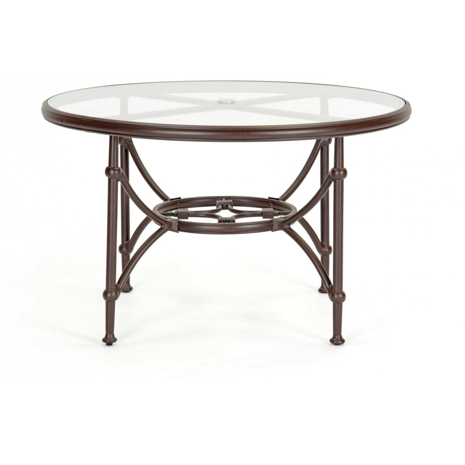 Caluco Origin Aluminum 48 Inch Round Dining Table