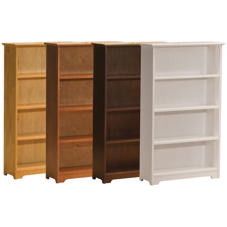 Atlantic Furniture 6110200 Four Tier Bookcase White