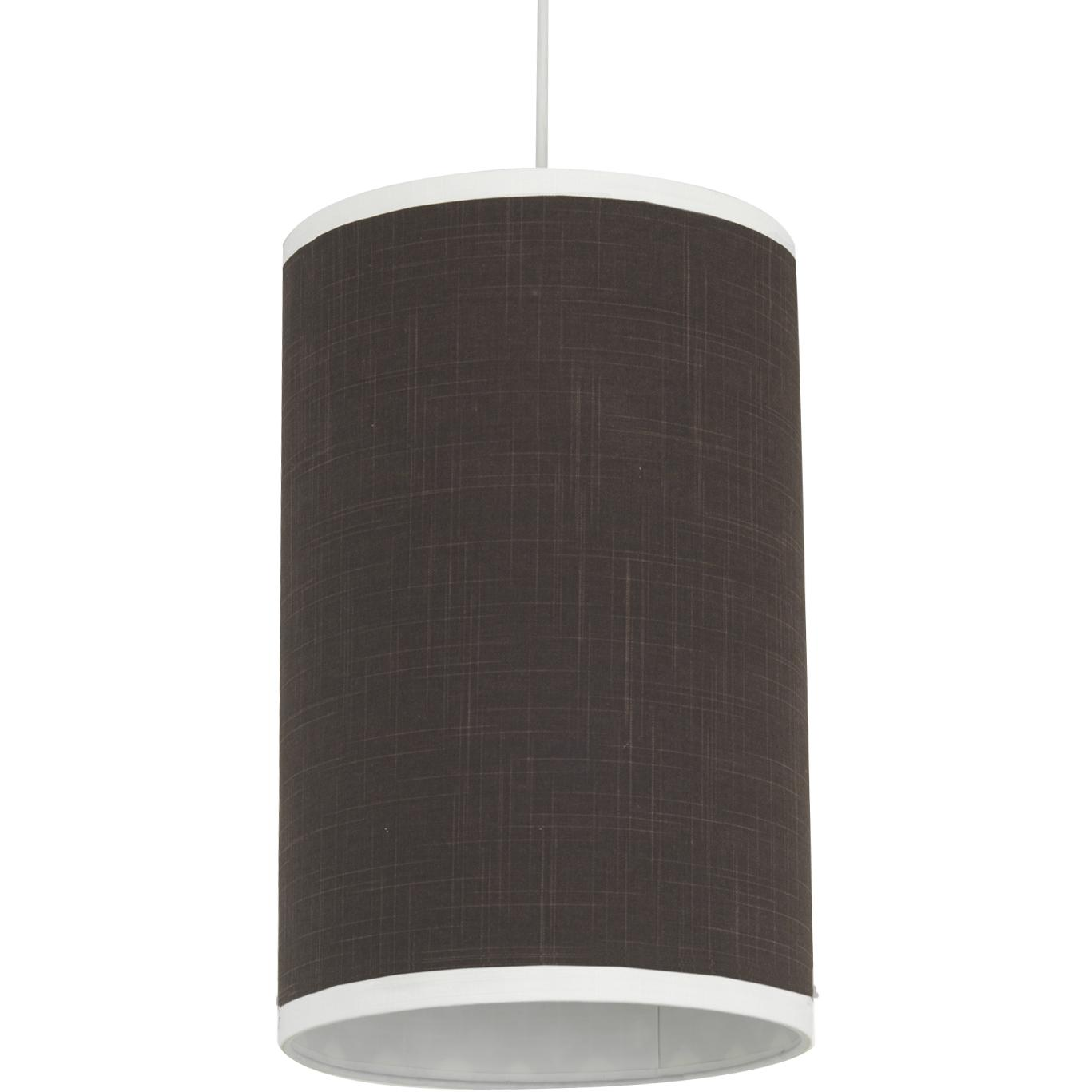 Oilo Cylinder Hanging Lamp - Modern Berries Brown Solid