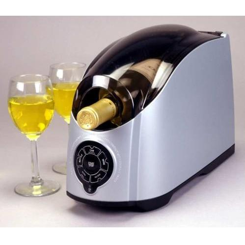 Cooper HC01.C Single Bottle Wine Cooler - Chrome