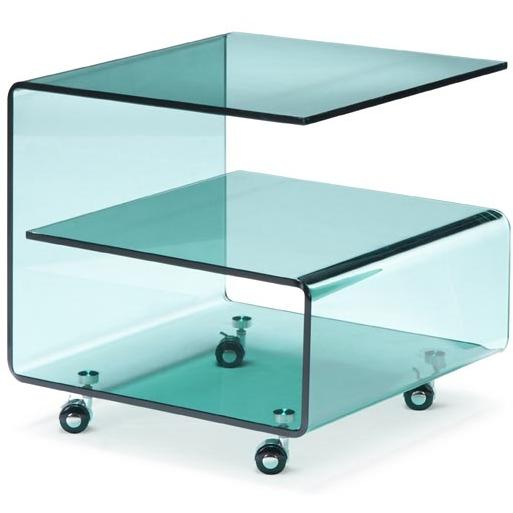 Zuo Modern - Voyage Side Table Clear - 404110