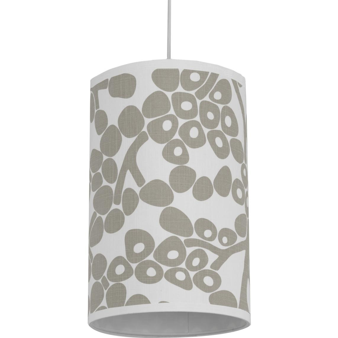 Oilo Cylinder Hanging Lamp - Modern Berries Taupe