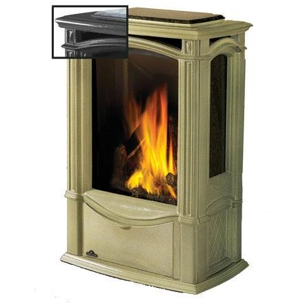 Picture of Napoleon GDS26 Castlemore Cast Iron Natural Gas Stove - Metallic Black
