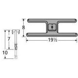 Cast Iron H Single Burner 20201-71701