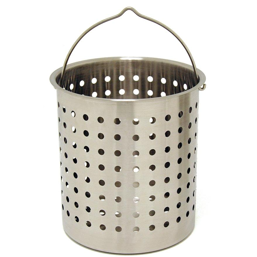 Picture of Bayou Classic Baskets 24 Quart Perforated Stainless Steel Fry Basket