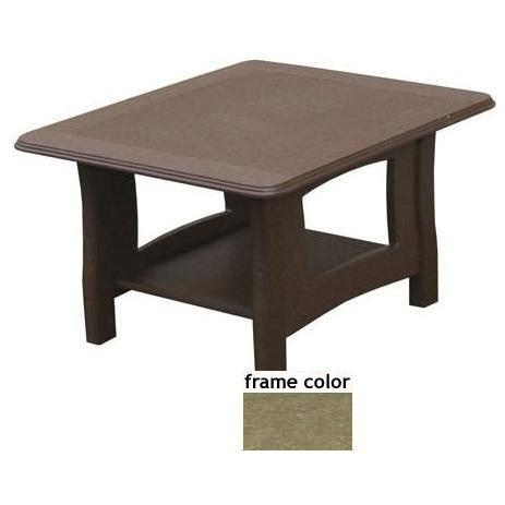 Eagle One Recycled Plastic Newport End Table - Driftwood