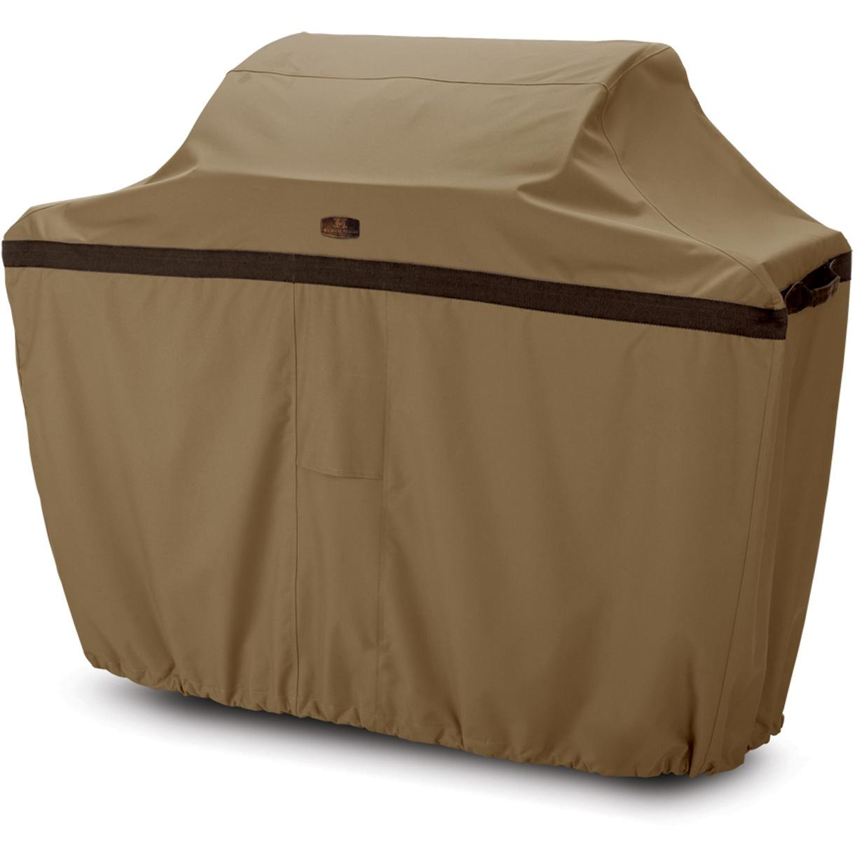 Classic Accessories Hickory Cart BBQ Cover - Hickory/Ant. Oak/Mahogany - Large