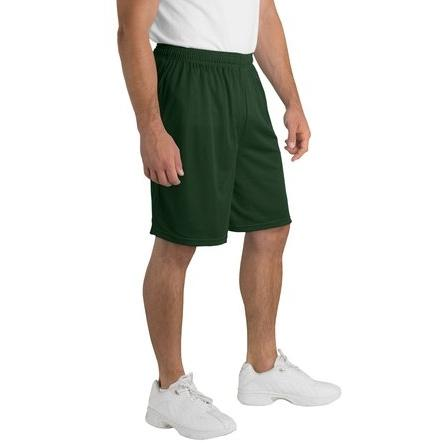 Sport-Tek Mesh Shorts 4XL - Forest