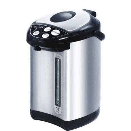 Sunpentown Hot Water Pot Stainless Steel 3.6 Liter Capacity With Multi-Temp Function - SP-3618