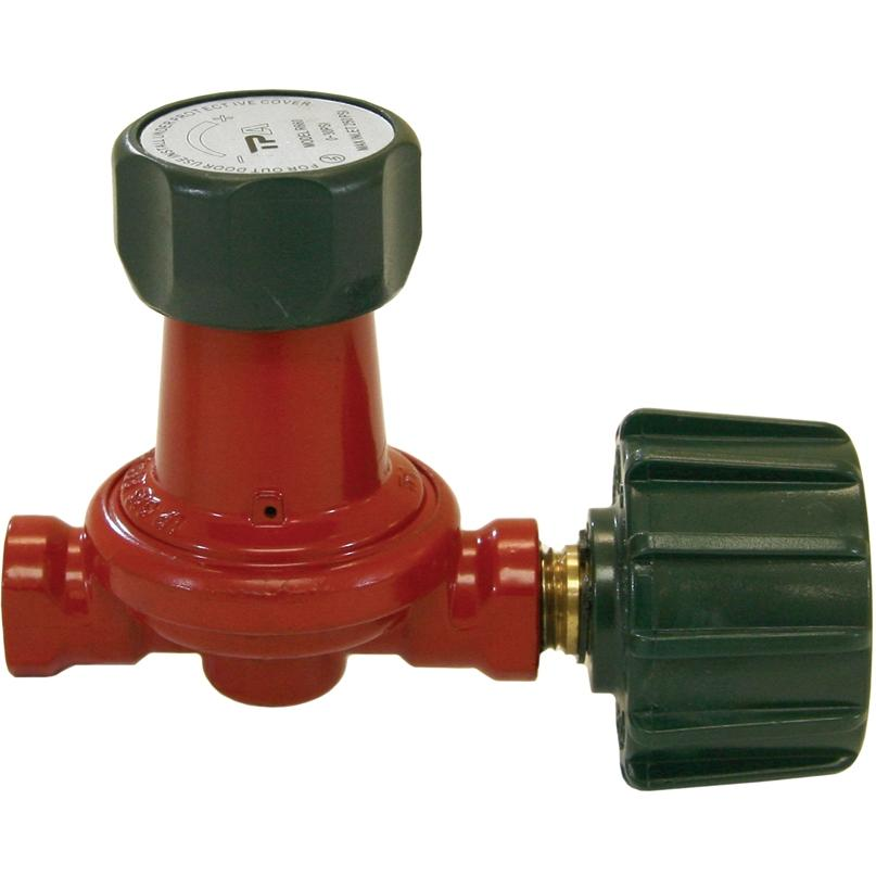 Bayou Classic High Pressure Adjustable Regulator With Valve