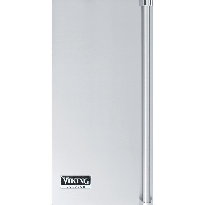Viking PIDP15SS 15-Inch Under-Counter Stainless Steel Outdoor Ice Machine Door Panel - Left Hinge