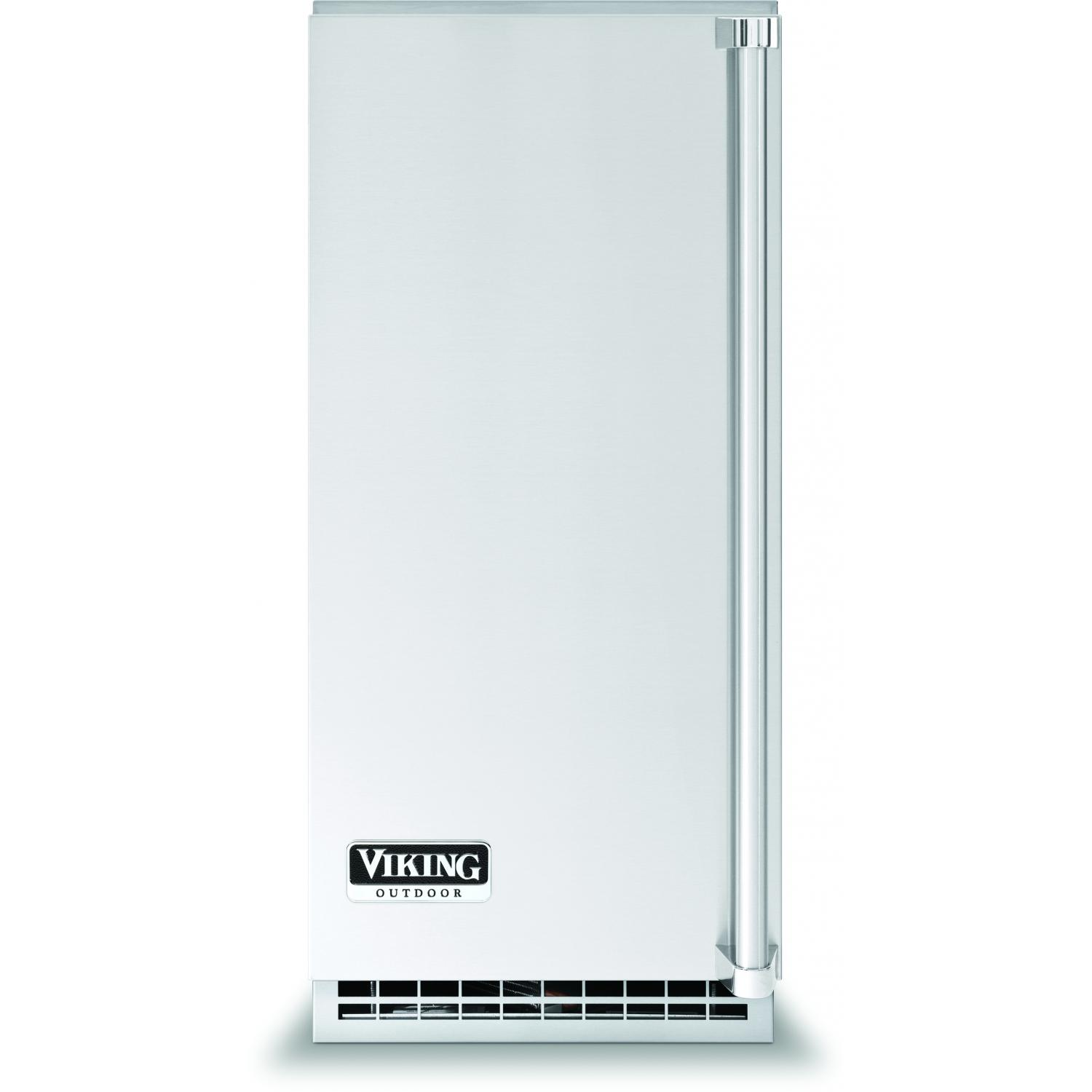 Viking FPIM515 15-Inch Under-Counter Outdoor Ice Machine With Pump Drain - Left Hinged