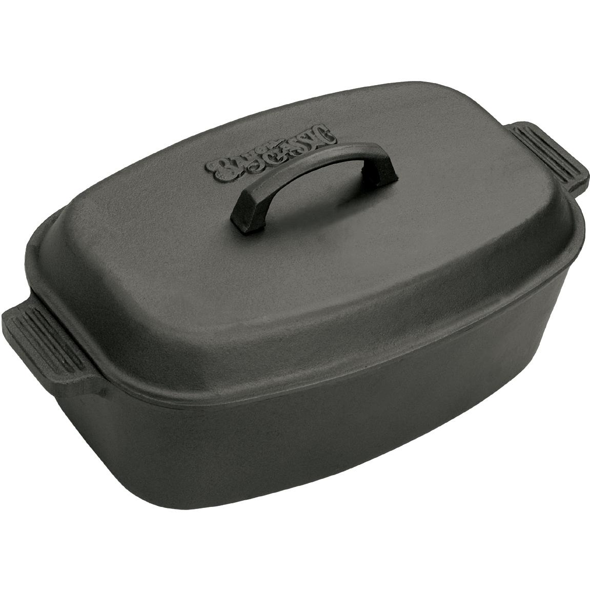 Bayou Classic Roasters 12 Quart Cast Iron Oval Roaster