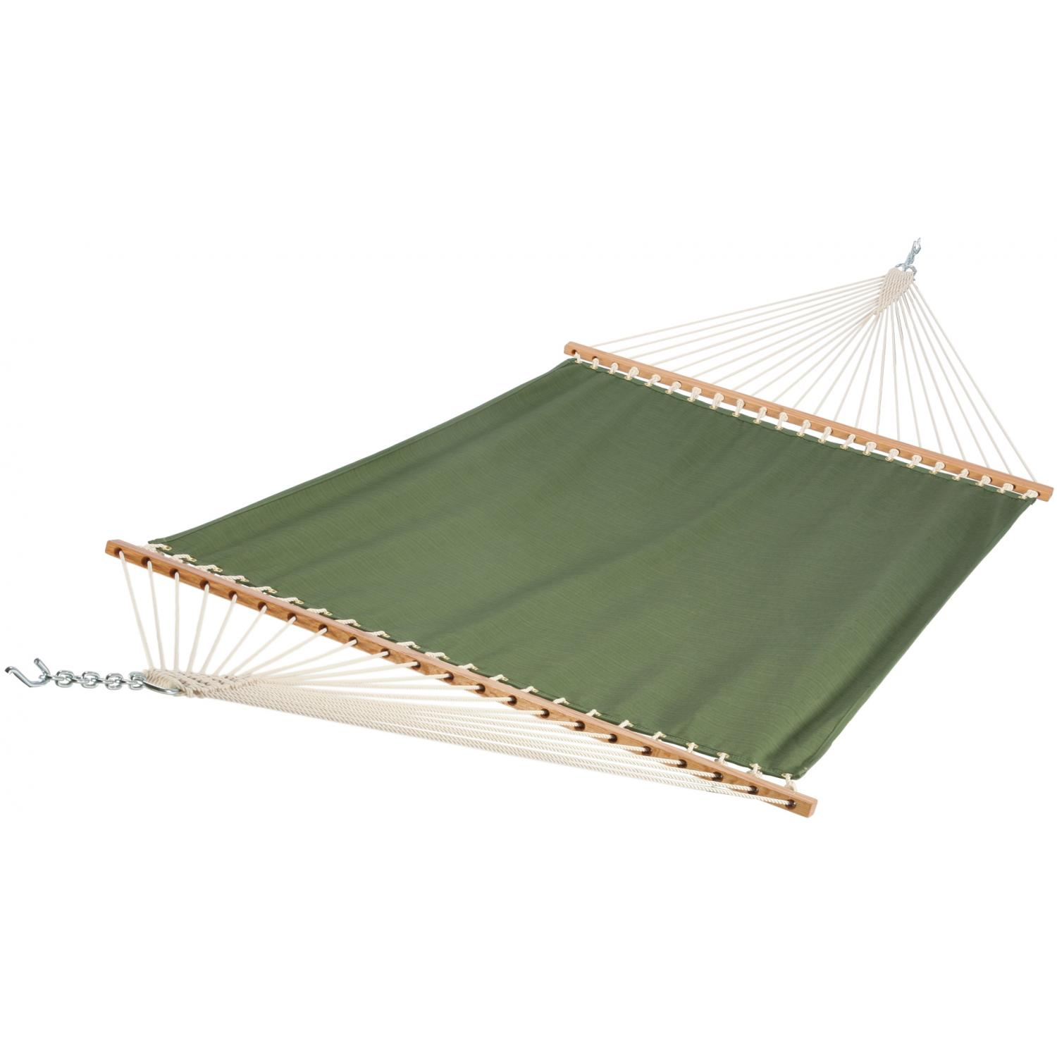 Pawleys Island FGN04 Large Quick-Dry Fabric Hammock - Dupione Palm