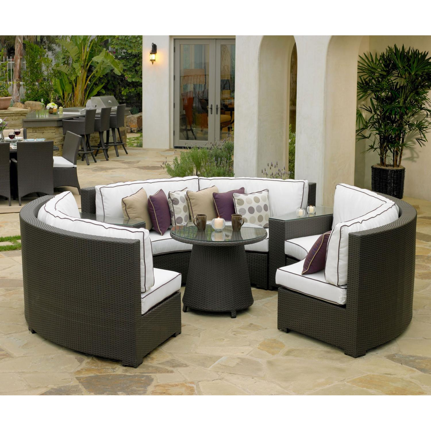 North Cape Melrose 6 Pc Chat Set W/ Table
