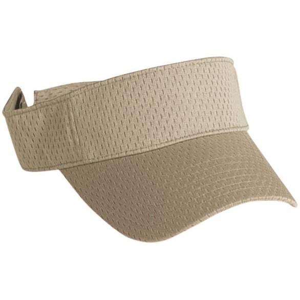 Cobra Caps Mesh Visor - Khaki