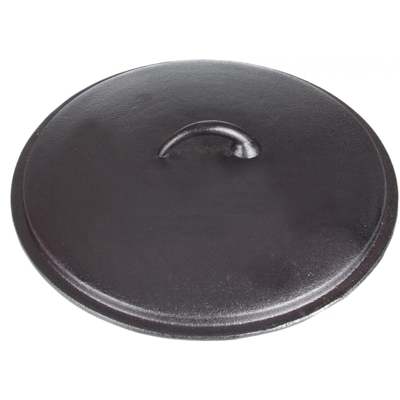 Cajun Cookware Lids 15 Inch Seasoned Cast Iron Skillet Lid