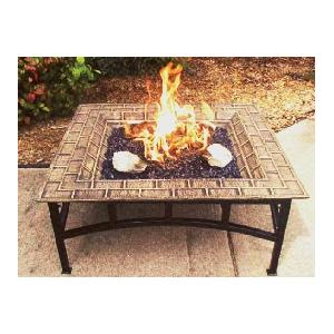 Firegear Impression 31-Inch Portable Outdoor Propane Gas Fire Pit