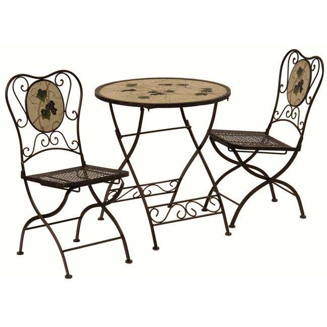 Bond Manufacturing Vineyard Collection Bistro Set